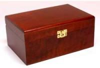 Healing Herbs houten kistje stockflesjes