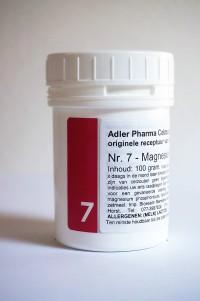 Schüssler celzouten nr. 7 Magnesium phosphoricum 100 gr.
