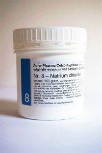 Schüssler celzouten nr. 8 Kalium Chloride 250 gr.