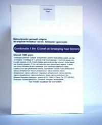 Celzoutenmengsel 1-12 met de beweging naar binnen 1000 gr