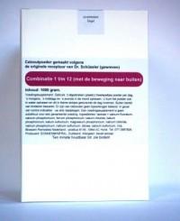 Celzoutenmengsel 1-12 met de beweging naar buiten 1000 gr