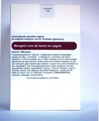 Celzoutenmengsel voor haren en nagels 1000 gr